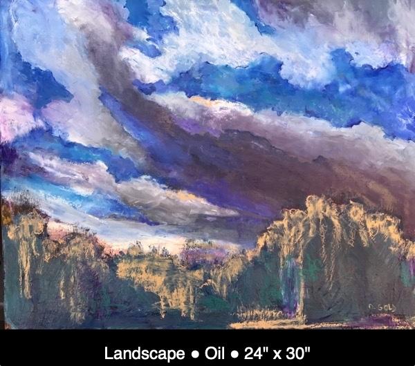 Landscape Oil 24%22 x 30%22 IMG_3454 caption